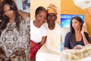 PHOTO: See The Emotional Post Tiwa Savage Made On Her Instagram After She Lost Her Father